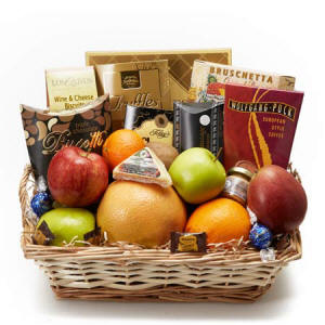Fruit and Cheese Gift Basket 74.99