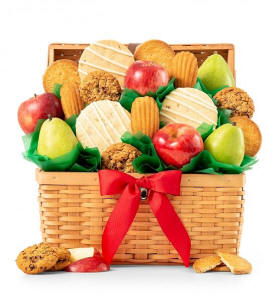 Fruit and Cookies Gift Basket Delivery