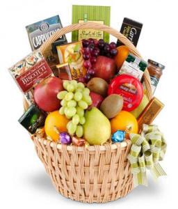 Fruit Gourmet Food Snack Basket