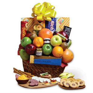 Same Day Fruit Snacks Gift Basket