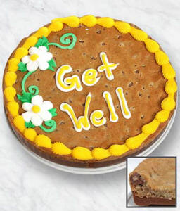 Get Well Cookie Bark Cake