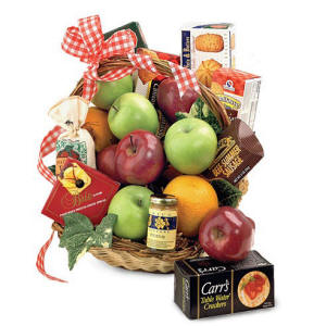 Gourmet Apples Fruit Basket