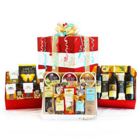 Gourmet Celebration Wine Gift