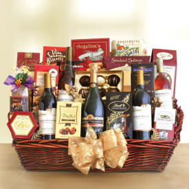 Wine And Gourmet Gift Basket Delivery To Mississippi The Same Day
