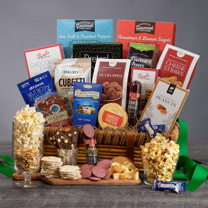 International Snack Gift Basket Junk Food