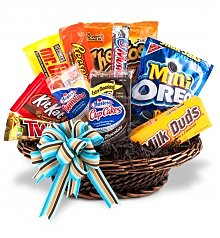 Junk Food Gift Baskets Same Day Delivery