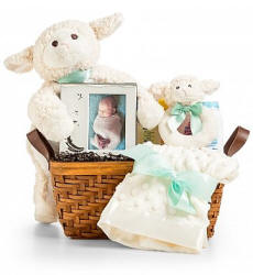Little Lamb Baby Gift Set Same Day Delivery