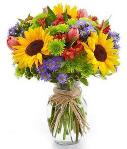 Mothers Day Flower Garden