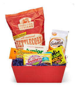 Movie Night Theme Basket