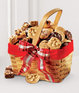 Mrs Fields Snack Sampler Gift Basket