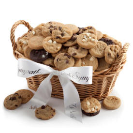 Mrs Fields Sympathy Cookie Basket