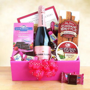 Mumm For Mom Wine Mothers Day Gift Basket