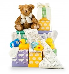 New Arrival Baby Gift Tower Same Day Delivery