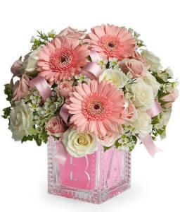 New Baby Girl Flower Bouquet