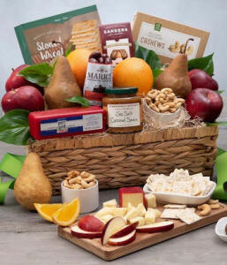 Orchard Abundance Fruit Gift Basket