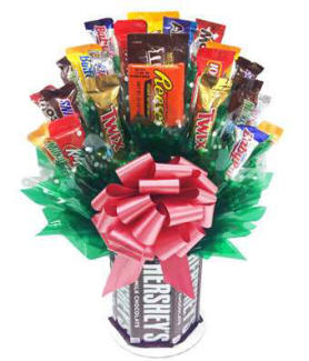 Popular Birthday All Candy Bar Bouquet