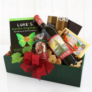 Pacific Redwood Wine & Cheese Gift Basket $66.48