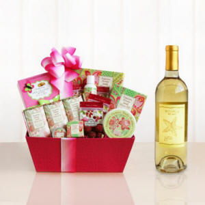 Moms Passion Flower Relaxation Package Gift Basket