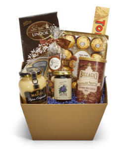 Perfectly Decadent Gourmet Gift Basket Chocoalte