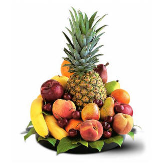 Pineapple Fruit Gift Basket