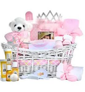 Pretty Princess Baby Gift Basket