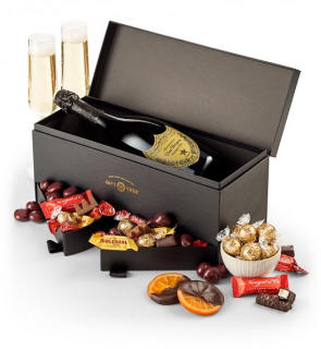 Romantic Gifts Wine Champagne Chocolate
