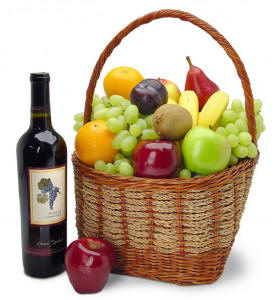 California Wiine Gift Basket $99.95