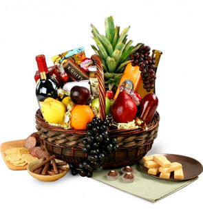 https://gift-basket-connection.com/Same Day Wine Baskets