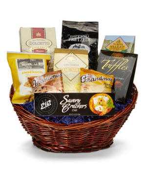 Savory and Sweet Gift Basket