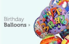 Send Birthday Balloons Mylar And Latex With Same Day Delivery