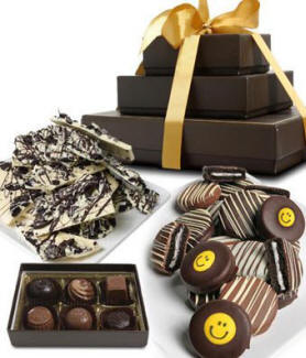 Smile Chocolate Gift Tower