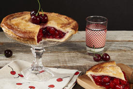A Deliciously Sour Cherry Pie Delivered