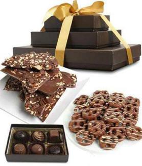 Milk Chocolate Belgian Sweet N Salty