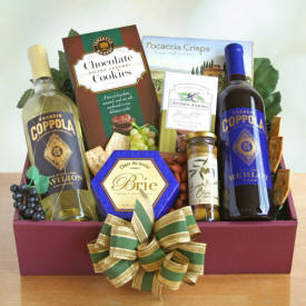 Taste and Toast Wine Tasting Basket