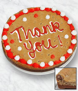 Thank You Cookie Bark Cake