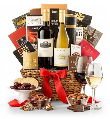 Toast of California Valentines Day Wine Basket 69.95