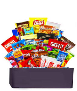 Ultimate Birthday Snack Gift Basket