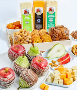 Ultimate Fruit, Cheese, Crackers, Nuts