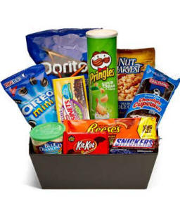 Ultimate Junk Food Basket 64.99