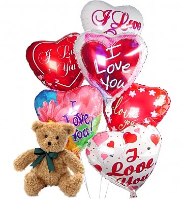 Valentines Day I Love You Balloons 54.95