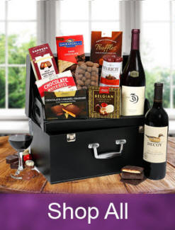 Wne, beer and champage gift baskets - Same day and next day delivery