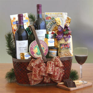 Wine Country Gourmet Gala Gift Basket