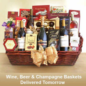 Same Day Delivery Best Wine Baskets