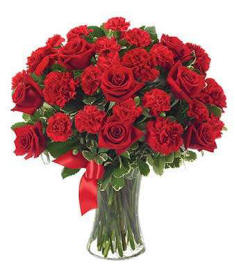 Red Roses For Valentines Day $84.99 Hand Delivered The Same Day